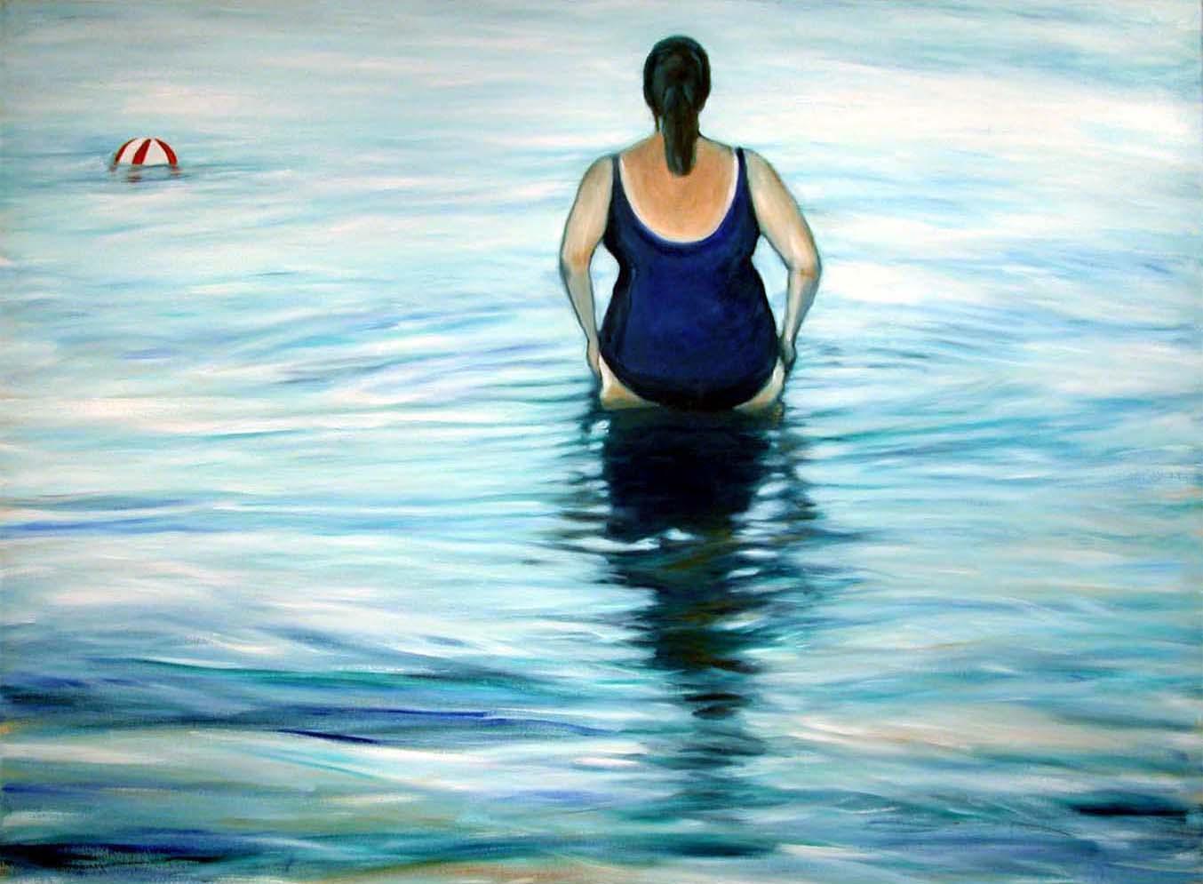 Late Day Swim Marsha Karr